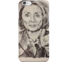 House Speaker Nancy Pelosi iPhone Case/Skin