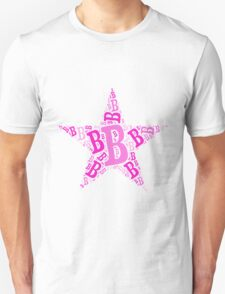 Word Art B T-Shirt