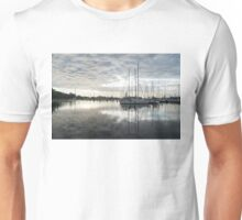 Downy Soft Clouds at the Marina Unisex T-Shirt