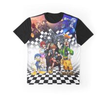 Kingdom Hearts - Sora s Throne Graphic T-Shirt