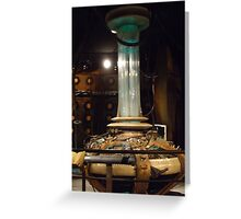 Doctor Who Console - 9th / 10th Doctors Greeting Card
