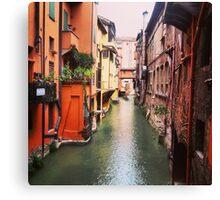 Secret Canal Canvas Print