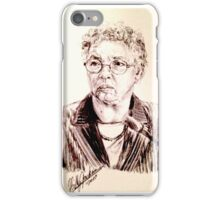 Toni Preckwinkle Portrait iPhone Case/Skin