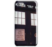Doctor Who TARDIS Doors - Police Box iPhone Case/Skin