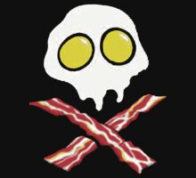 Bacon & and Eggs skull Kids Clothes