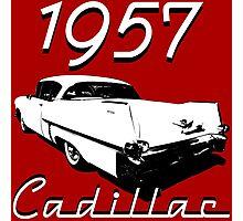 1957 Cadillac Photographic Print