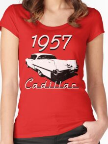 1957 Cadillac Women's Fitted Scoop T-Shirt