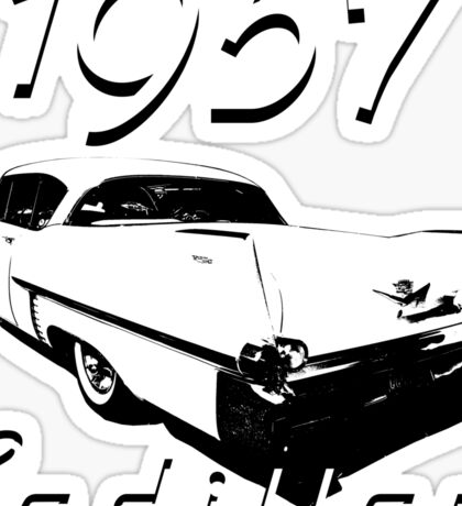 1957 Cadillac Sticker