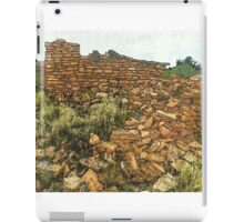 Prehistoric Southwest Pueblo Ruin iPad Case/Skin