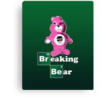 Breaking Bear (Care Bear Parody) Canvas Print