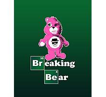 Breaking Bear (Care Bear Parody) Photographic Print