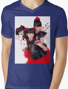 BABYMETAL - Day Of The Fox Mens V-Neck T-Shirt
