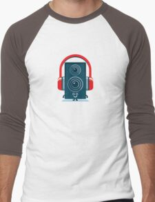 Character Building - Music Fan Men's Baseball ¾ T-Shirt