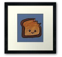 Tough Toast Framed Print
