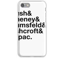 Ironic George Bush Cabinet iPhone Case/Skin