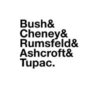 Ironic George Bush Cabinet Photographic Print