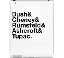 Ironic George Bush Cabinet iPad Case/Skin