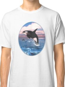 Killer Whales In The Arctic Ocean Classic T-Shirt