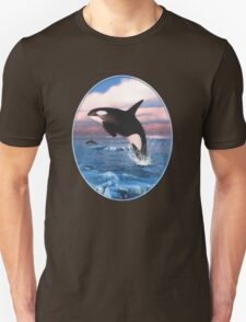 Killer Whales In The Arctic Ocean Unisex T-Shirt