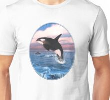 Killer Whales In The Arctic Ocean Unisex T-Shirt