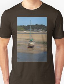 Low Tide At Padstow Unisex T-Shirt