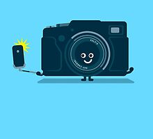 Character Building - Selfie camera by SevenHundred