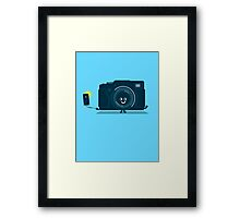 Character Building - Selfie camera Framed Print