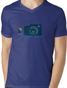 Character Building - Selfie camera Mens V-Neck T-Shirt