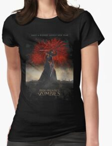 Pride and Prejudice and Zombies Movie - Have A Bloody Lovely New Year Womens Fitted T-Shirt