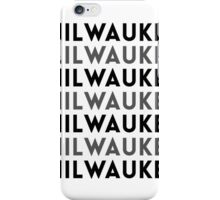 Milwaukee Wisconsin Tile Design iPhone Case/Skin