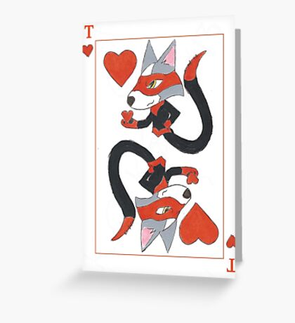 Thief of Hearts Greeting Card