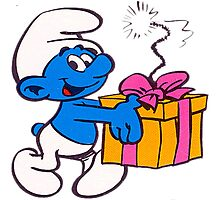 smurf Photographic Print