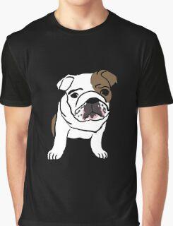 Cute Bulldog Graphic T-Shirt