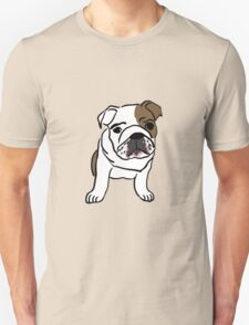 Cute Bulldog Unisex T-Shirt