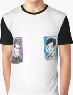 Autumn Dan and Phil Graphic T-Shirt