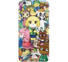 Animal Crossing Characters Collage iPhone Case/Skin