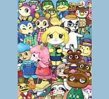 Animal Crossing Characters Collage Unisex T-Shirt