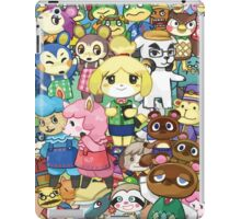 Animal Crossing Characters Collage iPad Case/Skin