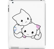 Cute anime kittens iPad Case/Skin