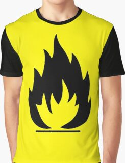 Flammable Graphic T-Shirt