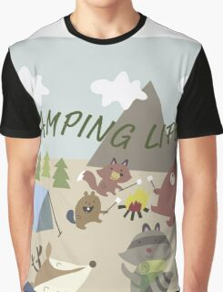 Camping Life Graphic T-Shirt