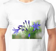Blue African Lily Unisex T-Shirt