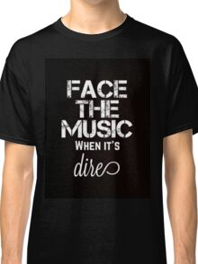 Marianas Trench Face The Music Black Classic T-Shirt