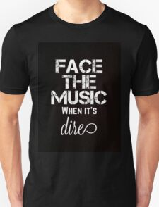 Marianas Trench Face The Music Black Unisex T-Shirt