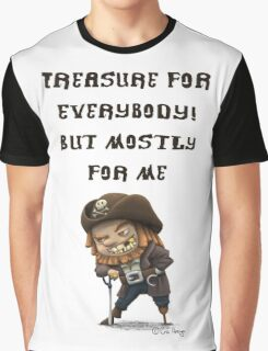 Little Pirate Graphic T-Shirt
