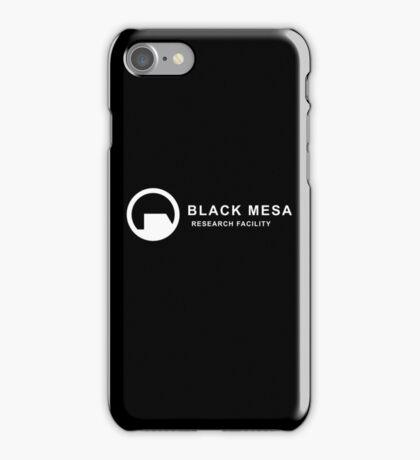 Black Mesa iPhone Case/Skin