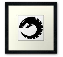 Tyranid Symbol Framed Print