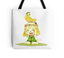 Animal Crossing Isabelle Tote Bag