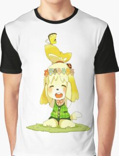 Animal Crossing Isabelle Graphic T-Shirt