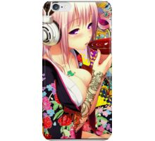 sake girl iPhone Case/Skin